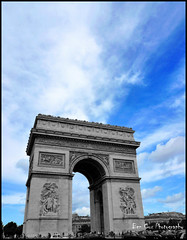 Arc De Triumph, Paris. (Ben Cox Photography) Tags: street paris france arcdetriumph arcdetriumphe