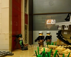 'We pull upon the risers' (Condor.) Tags: infantry pull war lego bob airborne upon lz the risers klick currahee