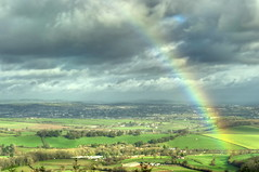 The end of the Rainbow (Sunshine-D) Tags: countryside rainbow devon exeter feilds haldon discoverytrail haldonhill