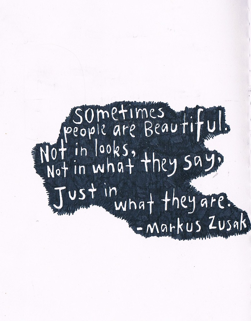 The Book Thief Quotes The World's Best Photos Of Markuszusak And Quote  Flickr Hive Mind