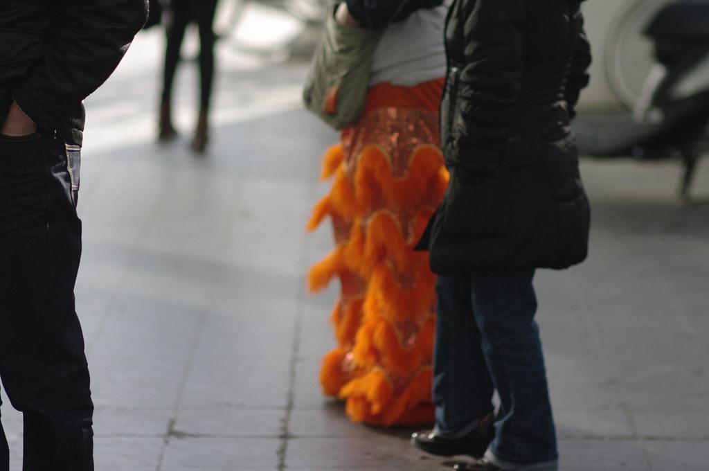 fluffy orange legs, Chinees nieuwjaar in Den Haag
