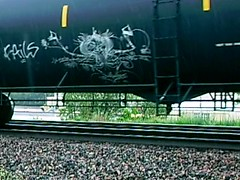 Fails, 27 (BeautifulVandalism) Tags: minnesota train graffiti tags 27 fails mn hc 2010 tankers benching