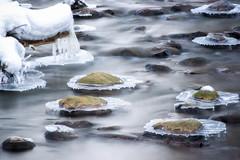 Mtjoki, Helsinki (Paarma) Tags: snow ice water helsinki flowing slowshutterspeed 366 366project ginordicjan12