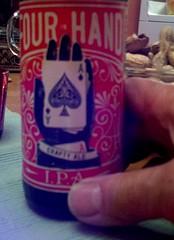 Day 113 (pauly...) Tags: beer 365 day113 fourinhand paulfontana flickrandroidapp:filter=none