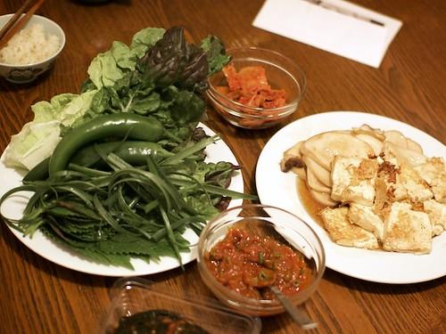 Korean Eats at Home