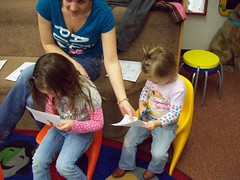 Early Literacy practice cutting (Iamcute2) Tags: public day library snapshot az fredonia azsnapshotday