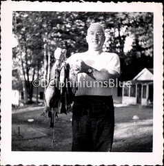 Gone Fishing (mizaliza) Tags: fish photo fishing fisherman etsy photovintage photoantique manfishing 3fish etsydelphiniumsbluedelphiniumsbluefound