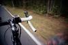 (david sine) Tags: color film bike bicycle century 35mm newjersey ride kodak nj blogged portra twinlights scannednegative fromthebike milesandmiles vivitarultrawideandslim twinlightsbikeride