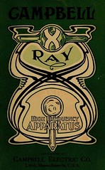 Campbell X-Ray and High Frequency Apparatus (Ephemeral Scraps) Tags: vintage advertising antique retro medical pharmacy artnouveau doctor xray advert medicine catalog catalogue 1900s physician 1890s 1880s druggist scientificinstrument medicalsupply