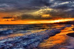 Sunrise (Theophilos) Tags: sea sky clouds sunrise waves crete rethymno κρήτη σύννεφα κύματα θάλασσα ανατολή ρέθυμνο ουρανόσ