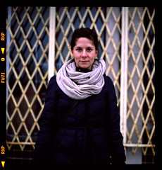 joanna (Alex Hoxie) Tags: winter film rolleiflex fuji cut detroit slide provia detriot 400x dequindre