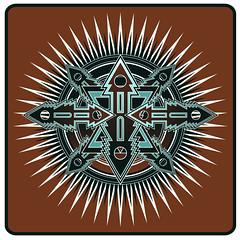 AZTEC SUN (Solo 71) Tags: art logo design aztec illustrator vector visualart freelance