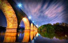 Stone Arch Bridge (BryanB Photo) Tags: minnesota river downtown bryan stonearchbridge minneapols 1020sigma blumenschein bblumenschein bryanbphoto