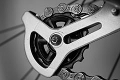 Steel (Winning entry) (Canon Queen Rocks (650,000 + views)) Tags: bike metal closeup steel spokes nuts chain oil gears