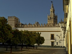 Sevilla Patio Banderas -The Court of Flags (Antonio Mesa Latorre) Tags: sevilla patio giralda mygearandme mygearandmepremium