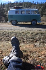 Tea break (zombikombi1959) Tags: road trip bus northerncalifornia vw volkswagen offroad rally adventure journey sst offroaders bulli splitscreen caifornia type2 offthebeatentrack shastasnowtrip backroadbus