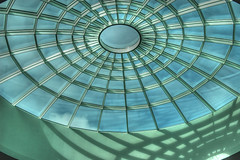 Inner circle (stevefge) Tags: windows glass germany circles dome