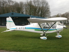 G-KFCA Ikarus C42 (Aircaft @ Gloucestershire Airport By James) Tags: james airport lloyds kemble ikarus c42 egbp gkfca