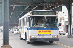 IMG_8292 (GojiMet86) Tags: street new york city nyc bus buses subway 1999 v shuttle orion mta avenue 36 31 31st 36th 6136