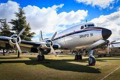 Douglas DC-4 Skymaster (Barcex) Tags: madrid espaa aircraft propellers comunidaddemadrid junkers dc4 cuatrovientos museodelaire douglasdc4skymaster