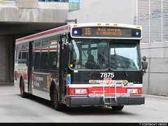 Toronto Transit Commission #7875 (vb5215's Transportation Gallery) Tags: 2005 toronto ttc transit orion commission vii
