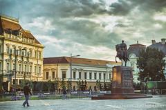 Zrenjanin and Army (freshandfun) Tags: statue square serbia vojvodina mainsquare militaryparade zrenjanin