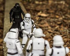 Look, I'm a Jedi Kni....He's Behind Me, Isn't He? (Vimlossus) Tags: toy starwars action humor figure stormtrooper kyloren
