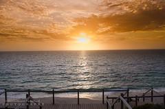 The sun goes down (JamieMarie Oaksford) Tags: ocean sea seascape nature clouds skyscape landscape sand australia wa westernaustralia waterwater landscae seawater beautifulnature oceanscape beautifulcolours jindalee beachesofaustralia beachphotogrpahy jindaleebeach