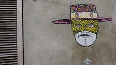 Noty & Aroz_1662 rue de la Butte aux Cailles Paris 13 (meuh1246) Tags: streetart paris chapeau zorro butteauxcailles masque paris13 ruedelabutteauxcailles notyaroz
