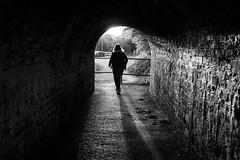 2016_129 (Chilanga Cement) Tags: shadow blackandwhite bw sunlight sunshine fuji shadows sunday tunnel x xseries x100 x100s x100t fujix100t