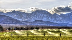 Highway 395 and the Eastern Sierras, California