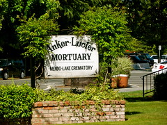 Anker-Lucier Mortuary sign - Willits, Calif. (Mitch O) Tags: california funeral mendocino funeralhome willits mortuary