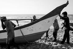 @ Marina Beach, Chennai, 2016 (bmahesh) Tags: life street people india beach fishermen marinabeach chennai ricohgr tamilnadu wwwmaheshbcom