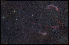 Veil Nebula (G A M A U F | V I S U A L S) Tags: longexposure stars star nikon loop astrophotography fingerofgod constellation milkyway cygnus deepsky witchsbroom filamentarynebula networknebula iamnikon nikond810a d810a afsnikkor300mmf28 iamastrophotograhy