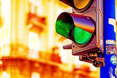Green light (Matja Skrinar) Tags: 100v10f bokehwhores