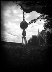 Chain & Hook (martin.bruntnell) Tags: bw monochrome hook hipstamaticapp derrickchain