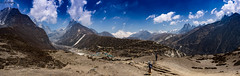 Machermo (brendan_reeves) Tags: nepal panorama trekking hiking himalaya himal solukhumbu machermo choyou