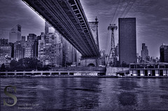 NYC Under the BRidge- (ProStudio Design) Tags: city nyc ny photography pentax manhattan july rooseveltisland 2012 k5 jjp singingwithlight