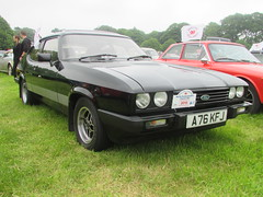 Ford Capri 2.0S A76KFJ (Andrew 2.8i) Tags: ford capri classic car scotton manor show pembrokeshire 20 2000 20s s hatch coupe hatchback fast performance sports sportscar all types transport welsh wales uk unitedkingdom