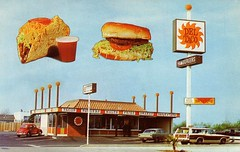 Del Taco #10 - Stanton, California (Place Stamp Here) Tags: california vintage restaurant postcard fastfood deltaco stanton coupon