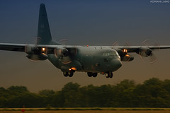 Short Final (~Clubber~) Tags: canada flying dusk aircraft aviation transport flight cargo landing airforce heavy hercules turboprop rcaf multiengine c130h