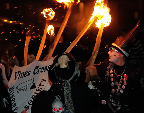 Rye bonfire parade