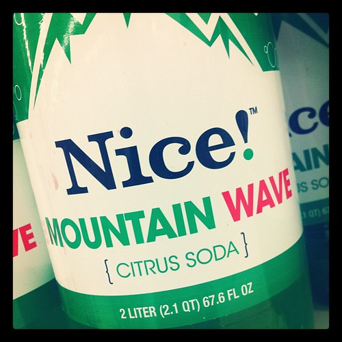 Just in case you were wondering what the soda at Walgreen's is like.
