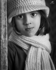 ..  .. (Meshari Al-dosari .. ) Tags: portrait bw photography photo kid