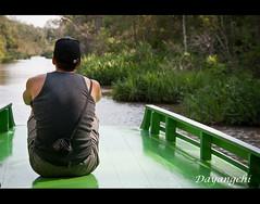 Reflexiones en la selva (dayangchi) Tags: rio indonesia agua barca selva uno borneo soledad reflexiones ltytr2 ltytr1 dayangchi mygearandme