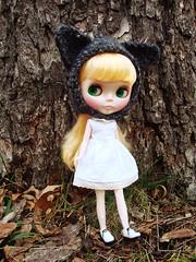 Aury in a wolfy hat