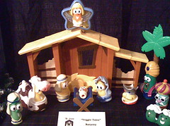 Veggie Tales nativity