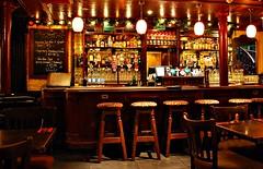 The Front Door, High Street, Galway (Yellabelly*) Tags: ireland irish bar table pub stool blackboard picnik publichouse galwaycity thefrontdoor