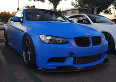 Matte blue M3 [Explored] (Bernardo Macouzet Photography) Tags: california county ca orange cars coffee g bmw m3 oc bernardo irvine 650hp macouzet gintani