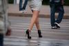 3675tw (Chico Ser Tao) Tags: street woman sexy walking women highheels legs mulher feminism pernas rua mulheres voyer genre feminismo saltoalto voyerismo gênero